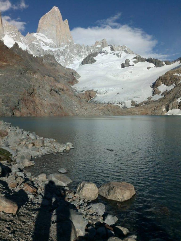 Laguna de los Tres.